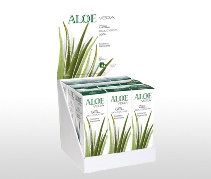 Aloe Vera Gel Corpo Biologico 125 ml