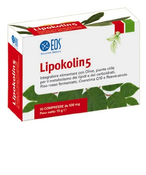 Lipokolin 5 30 compresse
